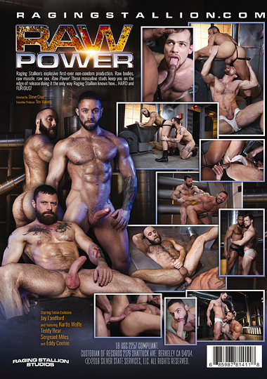 Raw Power Cover Back
