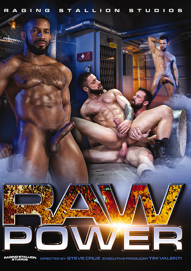 raging stallion studios, first bareback, raw power, Kurtis Wolfe, Eddy Ceetee, Sergeant Miles, Jay Landford, Teddy Bear