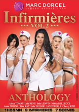 infirmieres anthology 2, marc dorcel, tina kay, fetish, anal, uniform, nurses, euro, bondage, gangbang, dp, double penetration