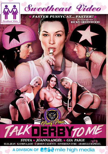 sweetheart video, talk derby to me, lesbian, all girl, roller derby, porn, Joanna Angel, Stoya, Gia Paige, Elsa Jean, Arabelle Raphael, Sovereign Syre, Carmen Caliente, Katrina Jade