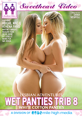 wet panties trib 8, sweetheart video, dana vespoli, abigail mac, athena faris, lesbian, all girl, tribbing, grinding, scissoring, clit, humping, white cotton