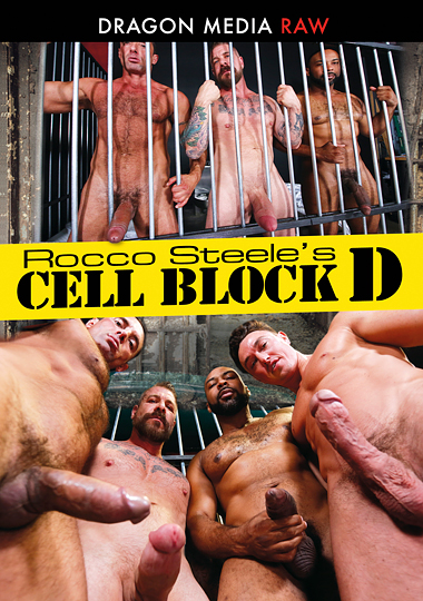 cell block d, dragon media raw, bareback, prison, gay, porn, Rocco Steele, Phoenix Fellington, Alessio Vega, Ray Diesel, Jack Andy, Nick Capra, Cade Maddox, interracial, muscles