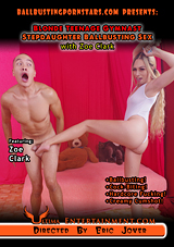 Blonde Teenage Gymnast Stepdaughter Ballbusting Sex