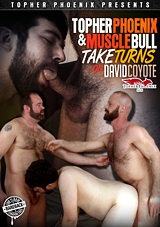 Topher Phoenix And MuscleBull Take Turns On David Coyot