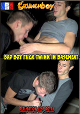 Bad Boy Fuck Twink In Basement