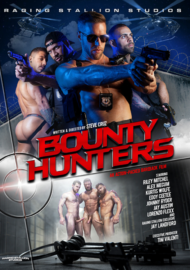 Bounty Hunters Cover Front