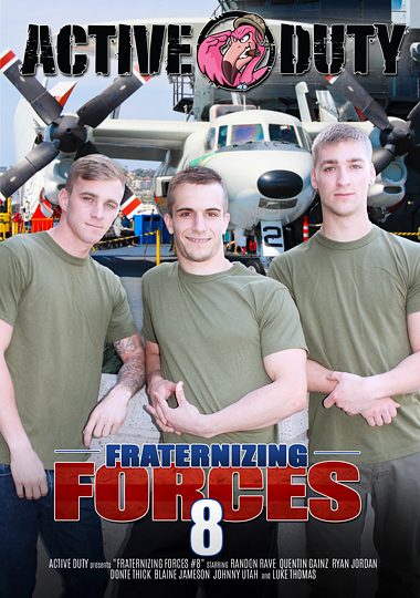 Fraternizing Forces 8 Cover Front