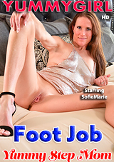 Yummy StepMom Foot Job