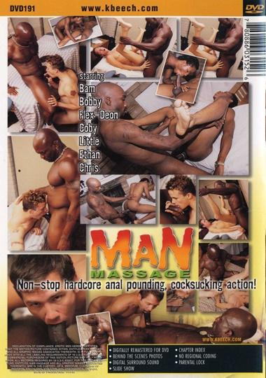 Man Massage Cover Back