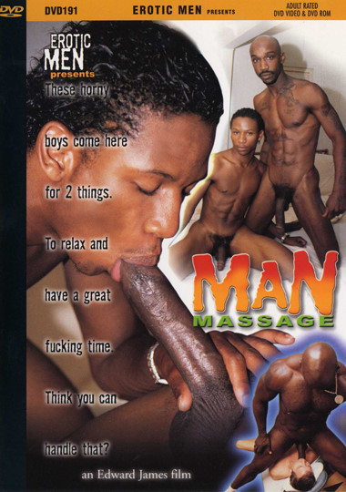 Man Massage Cover Front