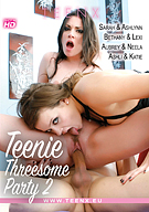Teenie Threesome Party 2