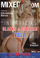 Interracial Blacks In Blondes