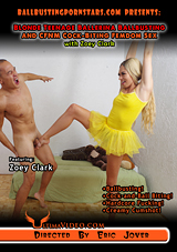 Blonde Teenage Ballerina Ballbusting And CFNM Cock-Biting Femdom Sex With Zoey Clark