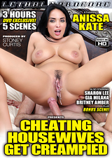 Cheating Housewives Get Creampied