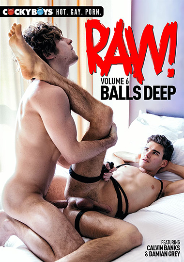 Raw Volume 6 Balls Deep Cover Front