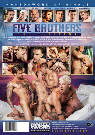 Five Brothers The Takedown Cover Front