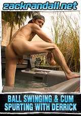 Ball Swinging And Cum Spurting With Derrick