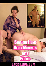 Straight Hunk Derek Michaels Gets Pegged