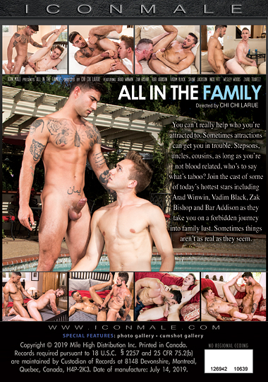 All in the Family Cover Back