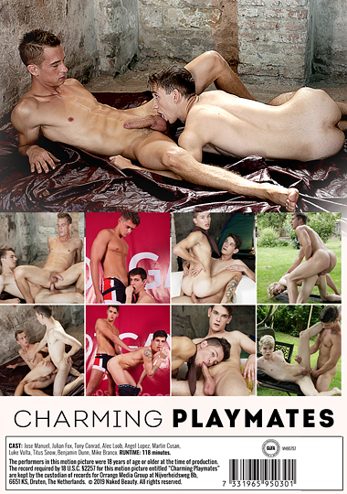 Charming Playmates Cover Back
