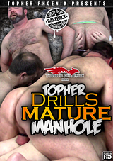 Topher Drills Mature Manhole