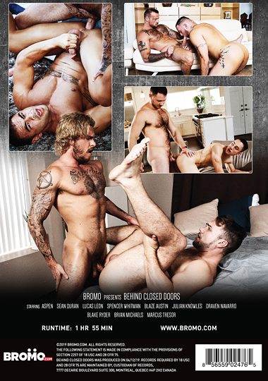 Behind Closed Doors (Bromo) Cover Back