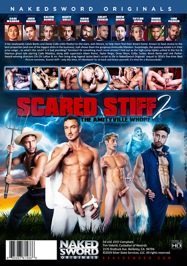Scared Stiff 2 The Amityville Whore Cover Back