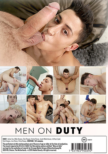 Men on Duty Cover Back