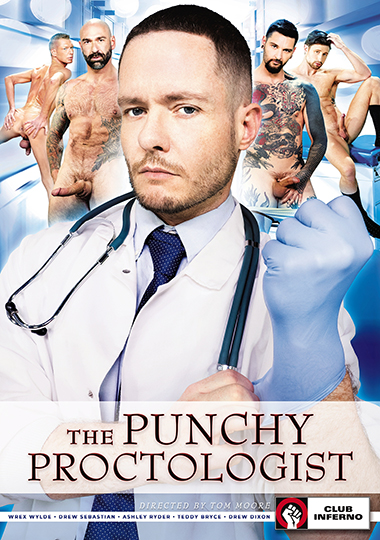 The Punchy Proctologist Cover Front