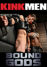 Black Muscle Devin Trez Disciplines New Dog Tony Orlando With Intense Bondage