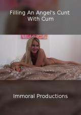 Filling An Angel's Cunt With Cum