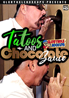 Tattoo And Chocolate Sauce