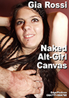 Gia Rossi - Naked Alt-Girl Canvas