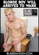 Blonde Boy Will Arrives To Wank