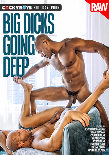 Big Dicks Going Deep Cover Front