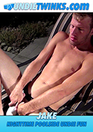 Jake Nighttime Poolside Undie Fun