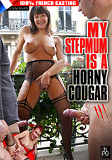 My Stepmum Is A Horny Cougar