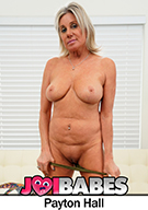 Busty Stepmom Payton Hall Gives Stepson JOI After Catching Him