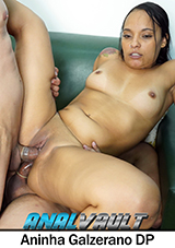 Fit Latina Aninha Galzerano Takes Double Dick In DP Action