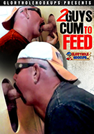 2 Guys Cum To Feed