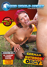 German Outdoor Orgy