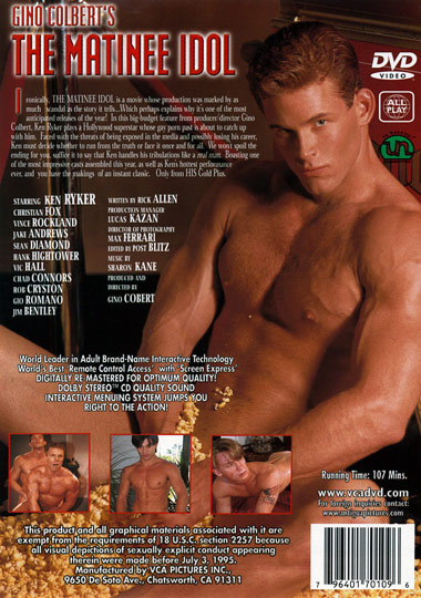 The Matinee Idol Cover Back
