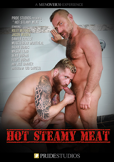 Hot Steamy Meat Cover Front