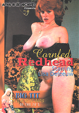 Big Tit Super Stars Of The 70's:  Cornfed Redhead