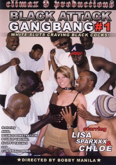 Black attack gang bang