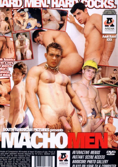Macho Man Cover Front