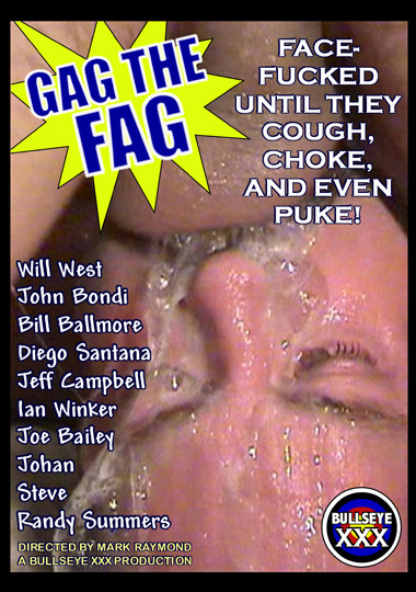 Gag the Fag 1 Cover Front