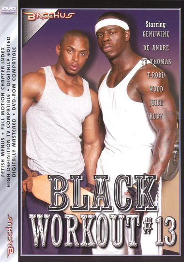 Black Workout 13 Cover Front