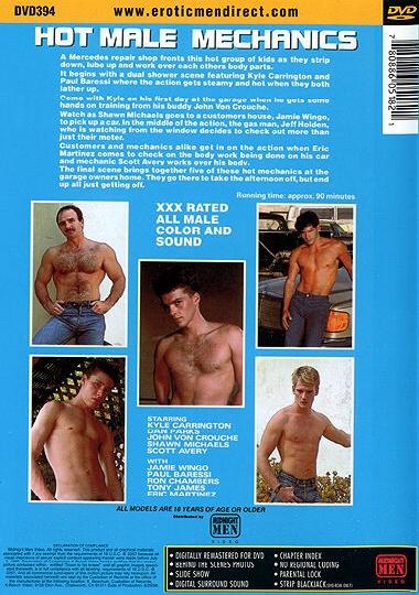 Popular Mechanics/Hot Male Mechanics Cover Front