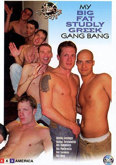 My Big Fat Studly Greek Gang Bang cover